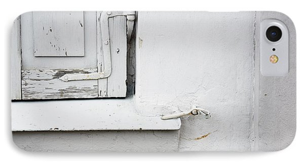 IPhone Case featuring the photograph Old Window Shutters Detail by Agnieszka Kubica
