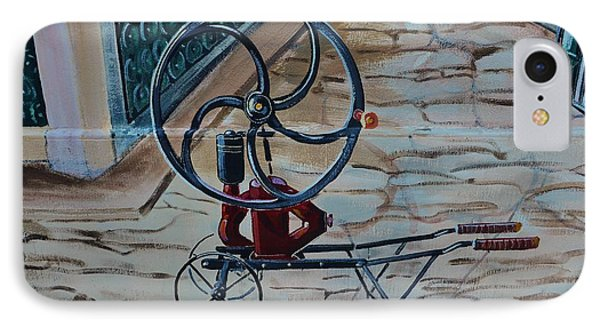 Old Wine Pump Phone Case by Dany Lison