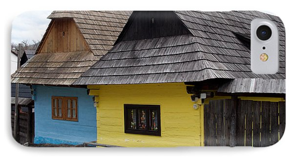 IPhone Case featuring the photograph Old Wooden Homes by Les Palenik