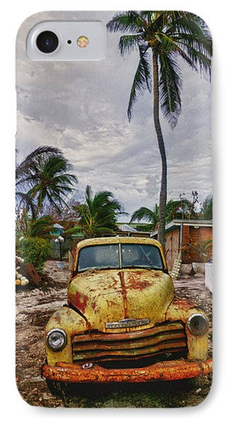 Old Yellow Truck Florida Phone Case by Garry Gay