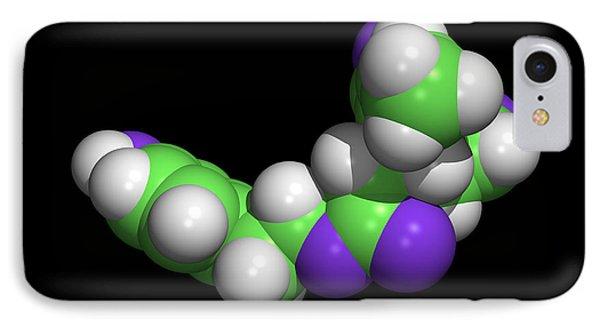 Oleocanthal Olive Oil Molecule Phone Case by Dr Tim Evans