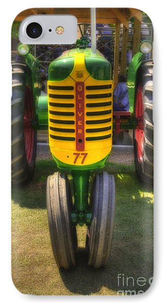 IPhone Case featuring the photograph Oliver Crop Row 77 by Trey Foerster