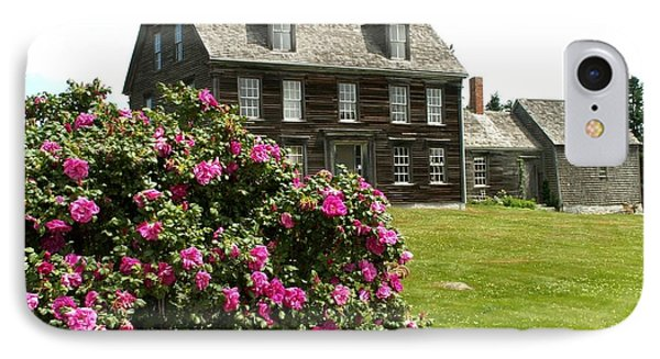 Olson House With Flowers Phone Case by Theresa Willingham