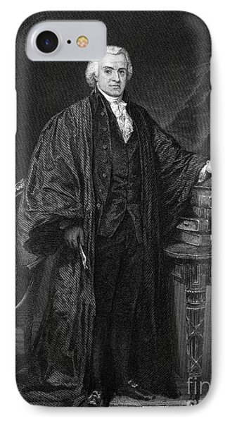 Olvier Ellsworth (1745-1807). Chief Justice Of The United States Supreme Court, 1796-1799. Steel Engraving, 1863 Phone Case by Granger