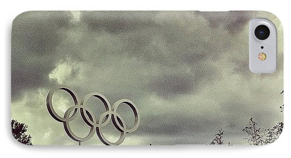 #olympicpark #olympics #london2012 IPhone Case by Samuel Gunnell