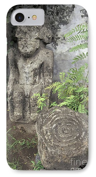 Ometepe Sculptures Nicaragua Phone Case by John  Mitchell