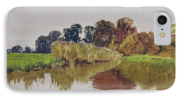 On The Arun Stoke Sussex  Phone Case by George Vicat Cole