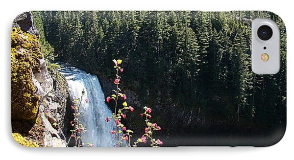 IPhone Case featuring the photograph On The Brink by Nick Kloepping