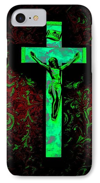 IPhone Case featuring the photograph On The Cross by David Pantuso