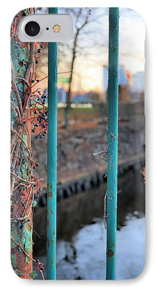 On The Fence Phone Case by JC Findley