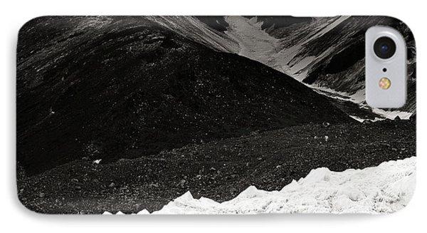On The Glacier Phone Case by Konstantin Dikovsky