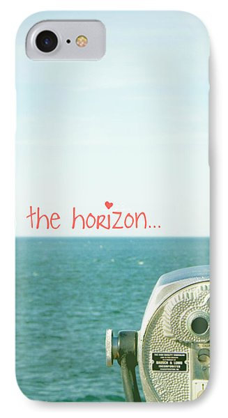 IPhone Case featuring the photograph On The Horizon by Robin Dickinson