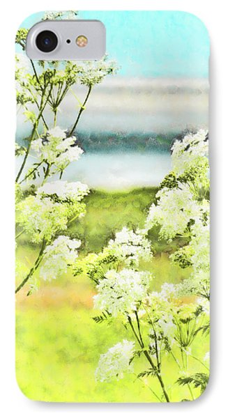 IPhone Case featuring the digital art On The Mudflats Of Pegwell Bay by Steve Taylor