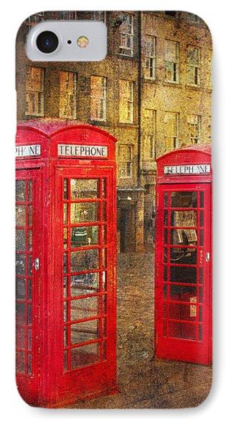 On The Streets Of Edinburgh  Phone Case by Svetlana Sewell
