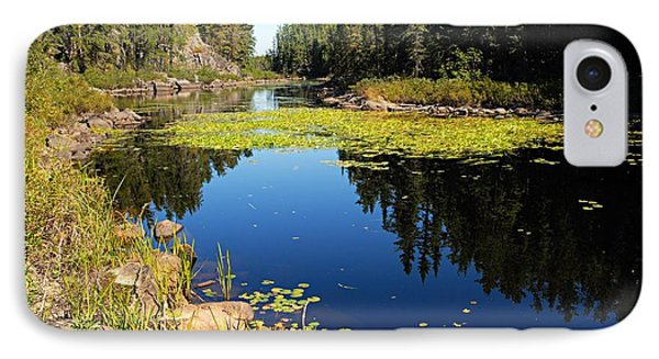 On The Way To East Lunch Lake Phone Case by Larry Ricker