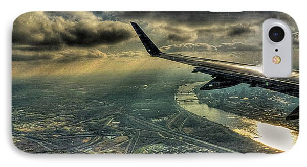 IPhone Case featuring the photograph On The Wing by William Fields