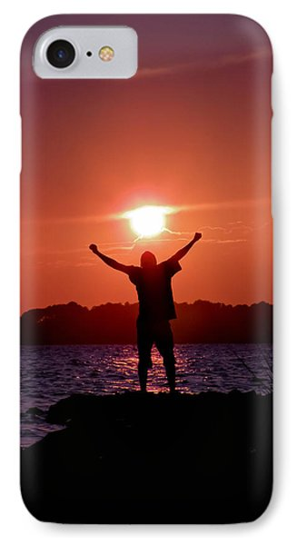On Top Of The World Phone Case by Trish Tritz