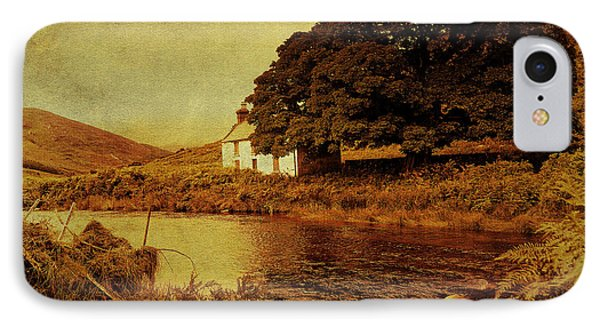 Once Upon A Time. Somewhere In Wicklow Mountains. Ireland Phone Case by Jenny Rainbow
