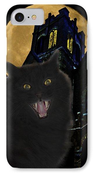 One Dark Halloween Night Phone Case by Shane Bechler