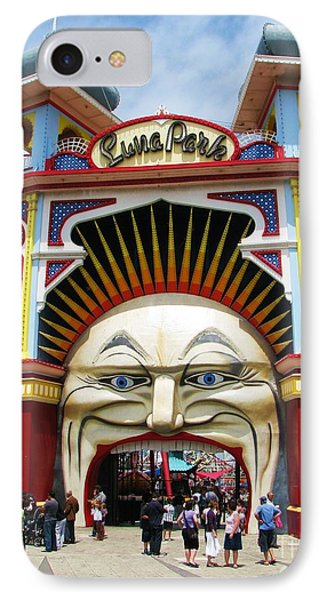 IPhone Case featuring the photograph Luna Park by Michele Penner