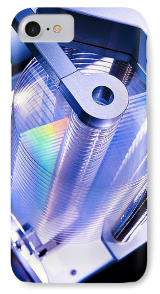 Optical Disc Production Machine Phone Case by Richard Kail
