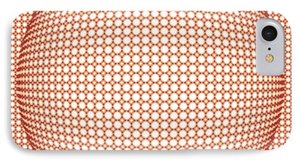 Optical Illusion Orange Ball Phone Case by Sumit Mehndiratta
