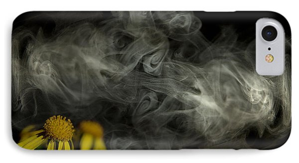 Optimisticly Dense Daisies IPhone Case by Vicki Ferrari Photography