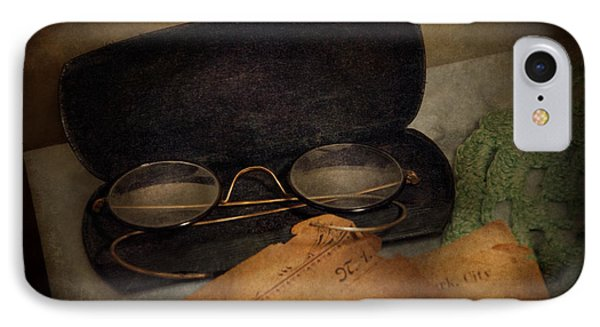 Optometrist - Glasses For Reading  Phone Case by Mike Savad