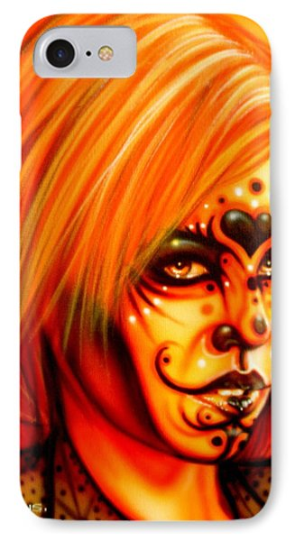 Orange Beauty IPhone Case by Timothy Scoggins
