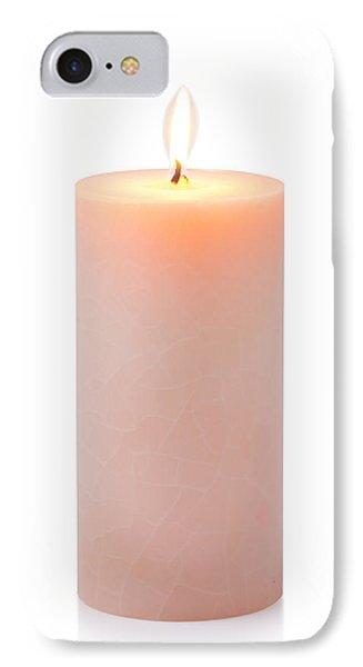 Orange Candle IPhone Case by Atiketta Sangasaeng