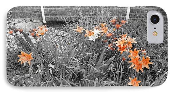 Orange Day Lilies. Phone Case by Ausra Huntington nee Paulauskaite