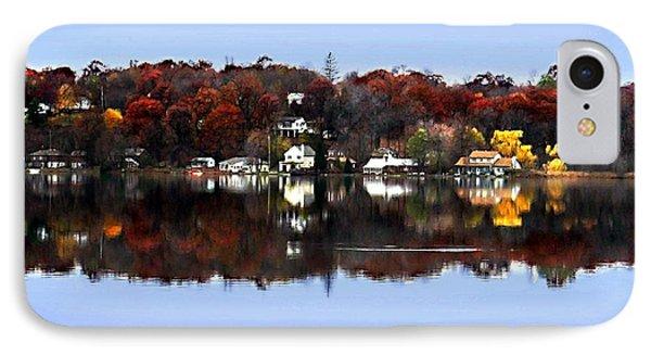 Orange Lake Phone Case by Dale   Ford