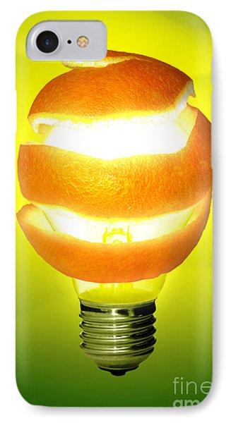 Orange Lamp Phone Case by Carlos Caetano
