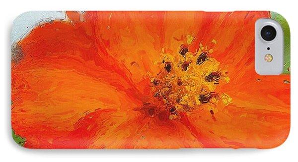 Orange IPhone Case by Michelle Joseph-Long