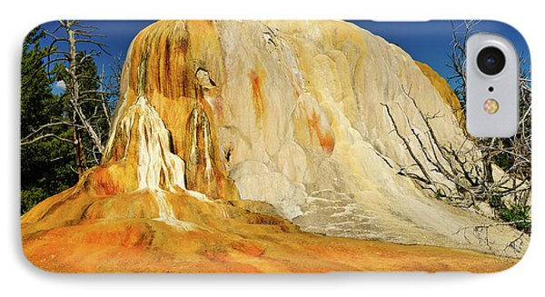 Orange Mound IPhone Case by Greg Norrell