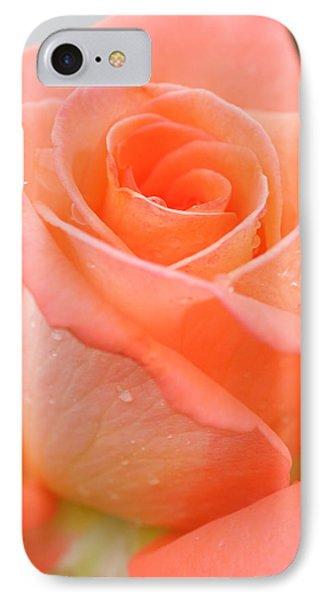 Orange Rose Phone Case by Atiketta Sangasaeng