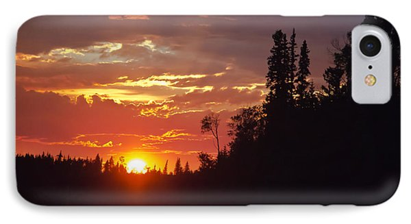 Orange Sky IPhone Case