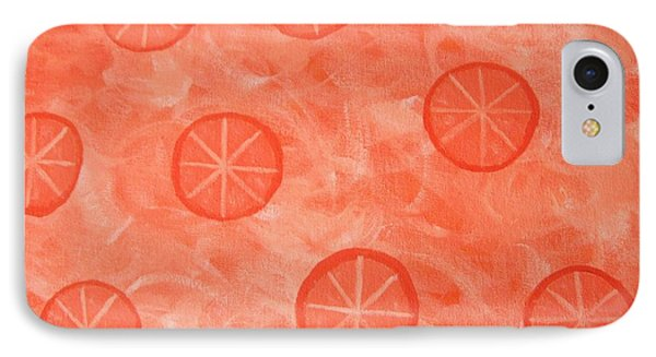 Orange Slices Phone Case by Jeannie Atwater Jordan Allen