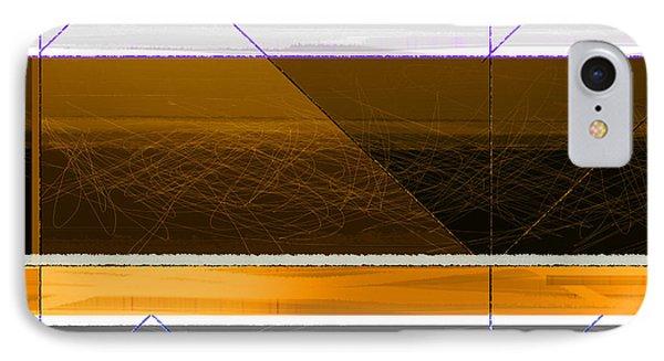 Orange Stripe IPhone Case