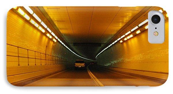 Orange Tunnel In Dc Phone Case by Ausra Huntington nee Paulauskaite