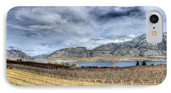 Orchards And Vineyards Phone Case by John  Greaves