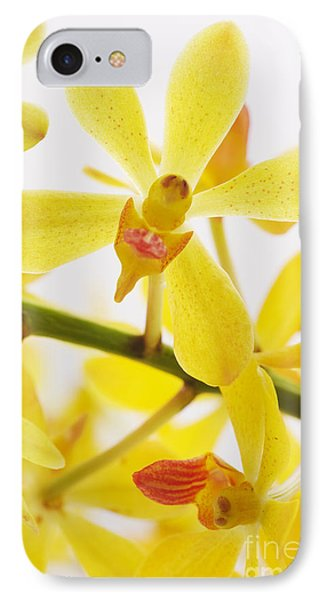 Orchid Phone Case by Atiketta Sangasaeng