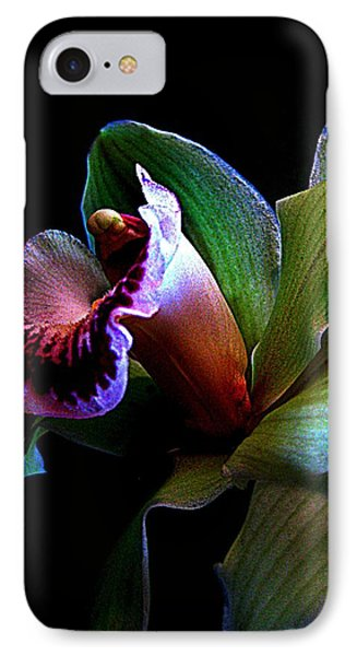 Orchid Gem Phone Case by Shirley Sirois
