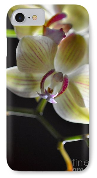 Orchidee IPhone Case by Sylvie Leandre