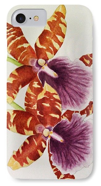 Orchids - Tiger Stripes  IPhone Case