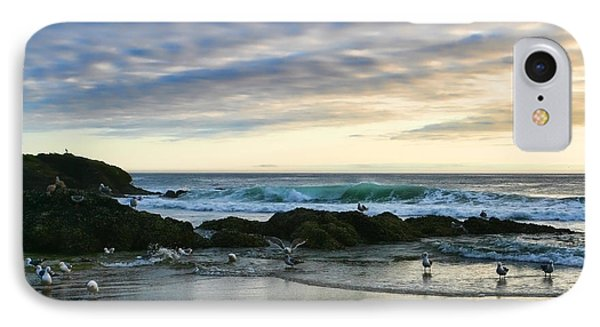 Oregon Coast At Dusk Phone Case by Bonnie Bruno