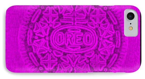 Oreo In Purple IPhone Case