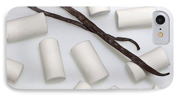 Organic Marshmallows With Vanilla Phone Case by Joana Kruse