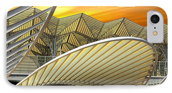 Oriente Station IPhone Case by Carlos Caetano
