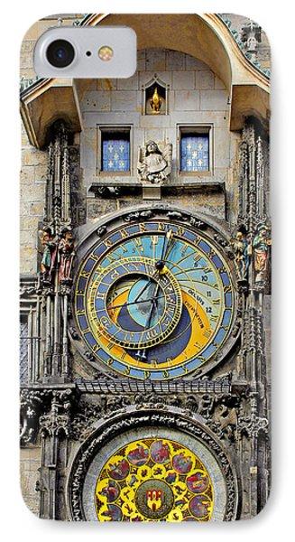 Orloj - Prague Astronomical Clock IPhone Case by Christine Till